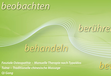 Corporate Design Heilpraktiker/Physiotherapeut Weist